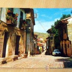 Postales: SANTILLANA DEL MAR. CALLE TIPICA DE LOS CANTONES. EDICIONES ARRIBAS. AÑOS 70. SIN CIRCULAR.. Lote 25195392