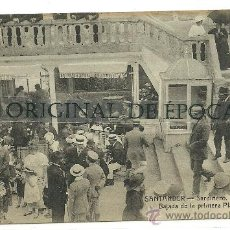 Postales: (PS-21713)POSTAL DE SANTANDER-SARDINERO.BAJADA DE LA PRIMERA PLAYA. Lote 25358724