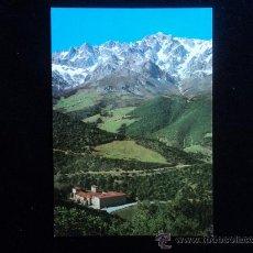 Postales: PICOS DE EUROPA. SANTANDER. MONASTERIO SANTO TORIBIO LIEBANA. SIN CIRCULAR. Lote 25416384