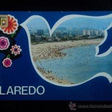 Postales: LAREDO. SANTANDER. PLAYA LA SALVE. SIN CIRCULAR . Lote 25416497