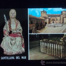 Postales: CANTABRIA. SANTILLANA DEL MAR. SIN CIRCULAR. Lote 25424435