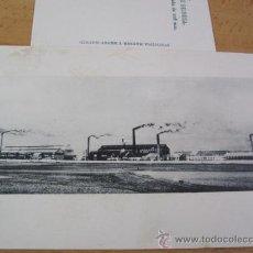 Postales: REINOSA - VISTA DE LOS TALLERES - SOCIEDAD ESPAÑOLA DE CONSTRUCCION NAVAL - HAUSER S/C . Lote 25687041