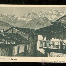 Cartes Postales: TARJETA POSTAL DE POTES Y LOS PICOS DE EUROPA.. Lote 26363502