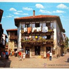 Postales: SANTANDER. SANTILLANA DEL MAR. CALLE TIPICA.. Lote 26592437