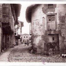 Postales: SANTILLANA DEL MAR - 3305 - UNA CALLE TIPICA - FOTOGRAFICA - UNIQUE- ( 6050). Lote 26981295
