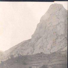 Postales: IGLESIA DE LEVEÑA (CANTABRIA).-POSTAL FOTOGRÁFICA DE ALVARO FERNÁNDEZ. Lote 27233716