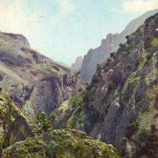 Postales: PICOS DE EUROPA Nº 7 CANAL DE BULNES EDICIONES SICILIA ESCRITA CIRCULADA SELLOS . Lote 27269840