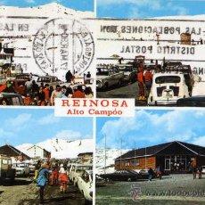 Postales: REINOSA Nº 445 ALTO CAMPOO (SANTANDER) ESTACIÓN INVERNAL, NÚM 8 ESCRITA CIRCULADA CON SELLO. Lote 27270618