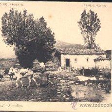 """Postales: """"PEÑAS ARRIBA"""".- AL MOLINO- COLECCIÓN G. DE LA PUENTE. Lote 27655537"""