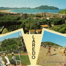 Postales: LAREDO Nº 4 CUSCÓ ESCRITA CIRCULADA SELLO. Lote 28006724