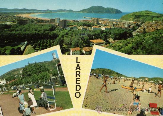 LAREDO Nº 4 CISCÓ ESCRITA CIRCULADA SELLO AÑO 1965 (Postales - España - Cantabria Moderna (desde 1.940))