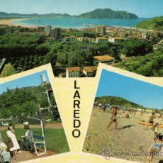 Postales: LAREDO Nº 4 CISCÓ ESCRITA CIRCULADA SELLO AÑO 1965. Lote 28029221