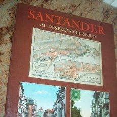 Postales: SANTANDER AL DESPERTAR EL SIGLO , 24 TARJETAS POSTALES A TODO COLOR.- EDC: ESTVDIO-1993. Lote 28157072