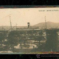 Postales: TARJETA POSTAL DE SANTANDER. JARDINES DEL MUELLE. . Lote 28398548