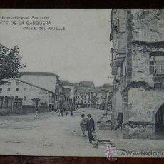 Postales: ANTIGUA POSTAL DE SAN VICENTE DE LA BARQUERA - CANTABRIA - CALLE DEL MUELLE - LIBRERIA GENERAL, SANT. Lote 28647029