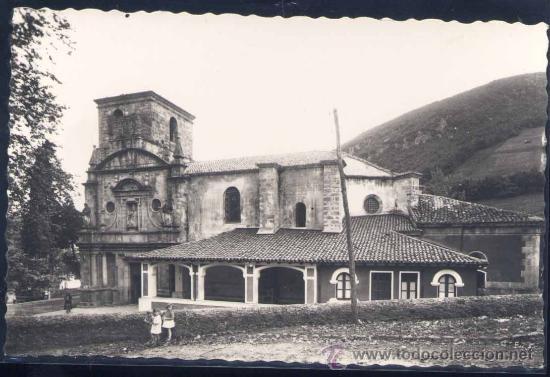 LIMPIAS (CANTABRIA).- IGLESIA PARROQUIAL. FRENTE (Postales - España - Cantabria Moderna (desde 1.940))