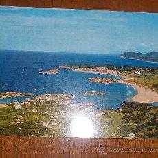 Postales: SANTANDER. PLAYAS DE ISLA Y NOJA. VISTA AÉREA.. Lote 28674866