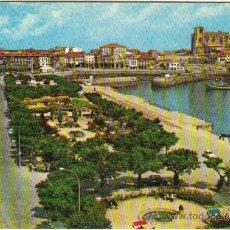 Postales: CASTRO URDIALES - 11 PARQUE DE AMESTOY Y PUERTO. Lote 29202122