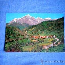Postales: POSTAL PICOS DE EUROPA ESPINAMA Y PICO REMOÑA POTES NO CIRCULADA. Lote 29273974