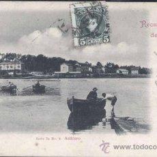 Postales: SIGLO XIX.- RECUERDO DE SANTANDER- ASTILLERO. Lote 29526466