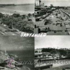 Postales: SANTANDER.- POSTAL MOSAICO 4 VISTAS.- EDICIONES SICILIA Nº 47.- FOTOGRÁFICA.. Lote 29609249