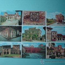 Postales: POSTAL. IMÁGENES DE SANTILLA DEL MAR. CANTABRIA. ESPAÑA. Lote 29801148