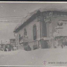 Postales: REINOSA (CANTABRIA).- POSTAL FOTOGRÁFICA DE UNA NEVADA. Lote 30093278