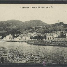 Postales: LIMPIAS - 5 - BARRIO DEL RIBERO Y LA RIA - (8993). Lote 30513370