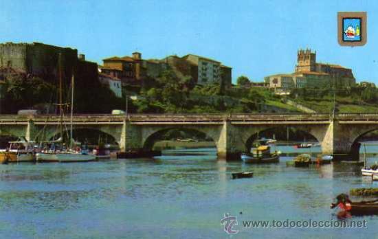 SAN VICENTE DE LA BARQUERA Nº 14 CANTABRIA VISTA PARCIAL DOMINGUEZ NUEVA SIN CIRCULAR (Postales - España - Cantabria Moderna (desde 1.940))