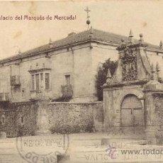 Postales: POSTAL THOMAS - ALCEDA - PALACIO MARQUES DE MERCADAL - CORVERA DE TORANZO - CANTABRIA. Lote 30628884