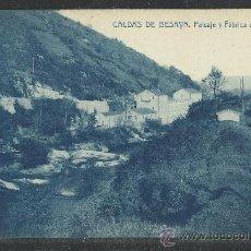 Postales: CALDAS DE BESAYA - PAISAJE Y FABRICA DE VILERA - THOMAS - (9344). Lote 30709517
