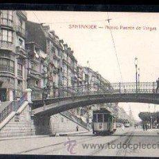 Postales: TARJETA POSTAL DE SANTANDER - NUEVO PUENTE DE VARGAS. E.CABRILLO, TORRELAVEGA. Lote 30780829