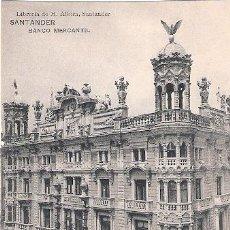 Postales: TARJETA POSTAL. SANTANDER. BANCO MERCANTIL. ED. M. ALBIRA.. Lote 31144812