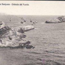 Postales: SAN VICENTE DE LA BARQUERA (CANTABRIA).- ENTRADA DEL PUERTO. Lote 31797396