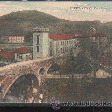 Postales: TARJETA POSTAL DE PUENTE VIESGO - VISTA PARCIAL.. Lote 31871064