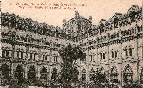 Postales: CUADERNO 30 POSTALES SEMINARIO UNIVERSIDAD PONTIFICA COMILLAS SANTANDER Completo Fotot Thomas Barcel - Foto 3 - 32002990