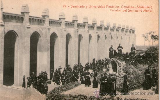 Postales: CUADERNO 30 POSTALES SEMINARIO UNIVERSIDAD PONTIFICA COMILLAS SANTANDER Completo Fotot Thomas Barcel - Foto 4 - 32002990