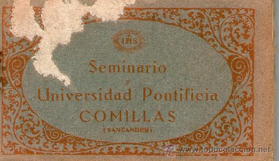 Postales: CUADERNO 30 POSTALES SEMINARIO UNIVERSIDAD PONTIFICA COMILLAS SANTANDER Completo Fotot Thomas Barcel - Foto 5 - 32002990