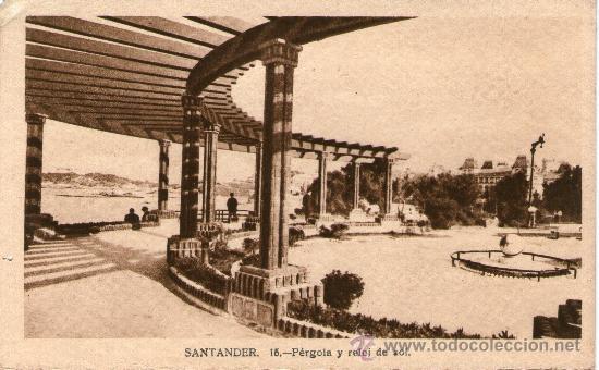 Postales: LOTE 5 POSTALES SANTANDER Jardines y Paseo Pereda. Piquío. Playa y península de la Magdalena. - Foto 2 - 32003427
