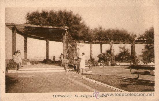 Postales: LOTE 5 POSTALES SANTANDER Jardines y Paseo Pereda. Piquío. Playa y península de la Magdalena. - Foto 5 - 32003427