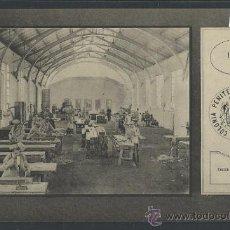Postales: COLONIA PENITENCIARIA DEL DUESO - 1910 - TALLER DE CARPINTERIA - (10.620). Lote 32114419