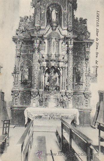 LIMPIAS, ALTAR DE NUESTRA SEÑORA DEL ROSARIO, EDITOR: NO LO INDICA (Postales - España - Cantabria Antigua (hasta 1.939))