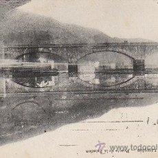Postales: LIMPIAS, PUENTE DE LA ESTACIÓN, EDITOR: E.J.G.. Lote 32614963