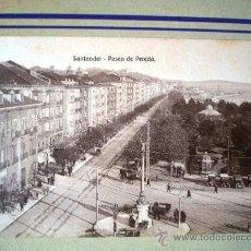 Postales: POSTAL ANTIGUA SANTANDER. PASEO DE PEREDA. EDICIÓN VILCHES. . Lote 32663218