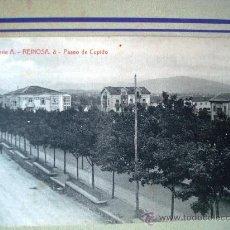 Postales: POSTAL ANTIGUA REINOSA. PASEO DE CUPIDO. Lote 32663243
