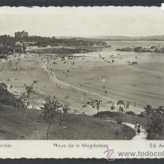 Postales: SANTANDER - 123 - PLAYA DE LA MAGDALENA -ED. ARRIBAS- (10.973). Lote 33257637