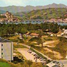 Postales: SAN VICENTE DE LA BARQUERA Nº 333 SANTANDER CAMPING 4 BUSTAMANTE SIN CIRCULAR . Lote 33534393