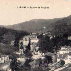Postales: LIMPIAS BARRIO DE RUCOBA SIN CIRCULAR . Lote 33640080