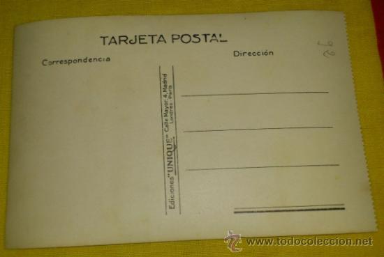 Postales: POSTAL FOTOGRAFICA num 2108., SANTANDER., CALLE DE LA RIVERA Y PUENTE DE VERGAS – Ediciones Unique - Foto 2 - 34513587