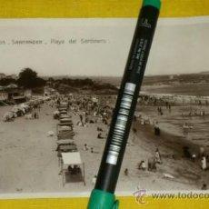 Postales: POSTAL FOTOGRAFICA NUM 2105., SANTANDER., PLAYA DEL SARDINERO – EDICIONES UNIQUE . Lote 34513441